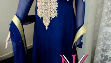 Nadya Visage Party Wear Collection 2012 For Women 001