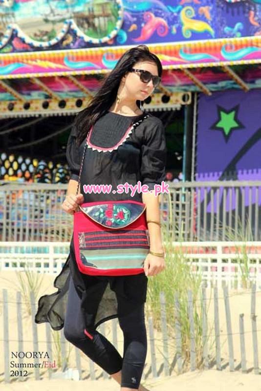 Noorya Latest Summer Fashion Dresses For Girls 2012 008
