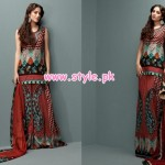 Shariq Textiles Latest Lawn Collection For Women 2012 007