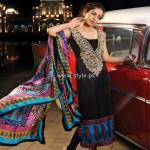 Shirin Hassan Block Printed Formal Wear Collection 2012 002