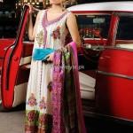 Shirin Hassan Block Printed Formal Wear Collection 2012 005