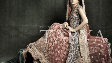 Tabya And Sadya Wedding Wear Collection 2012 001