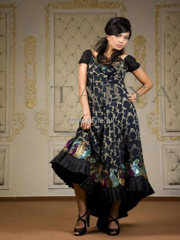 Tabya & Sadya Formal Wear Dresses 2012 for Ladies