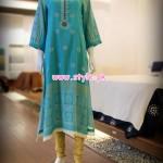 Thredz Latest Mid Summer Dresses For Girls 2012 010