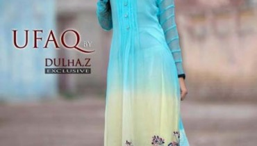 Ufaq By Dulhas Party Wear Collection 2012 For Women 001