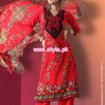 United Silk Designers Latest Silk Dresses For Women 2012 005