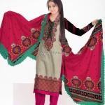 Al-Hamra Textiles Khaddar 2012 Collection for Women 004