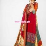 Al-Hamra Textiles Latest Winter Dresses For Women 2012 001