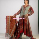 Al-Hamra Textiles Latest Winter Dresses For Women 2012 003