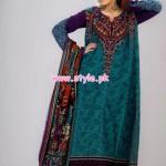 Al-Hamra Textiles Winter 2012 Latest Collection 009