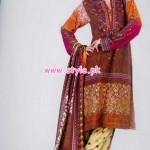 Al-Hamra Textiles Winter 2012 Latest Collection 011
