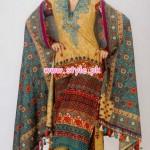 Al-Hamra Textiles Winter 2012 Latest Collection 015