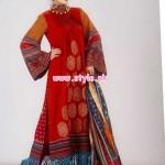 Al-Hamra Textiles Winter 2012 Latest Collection 017