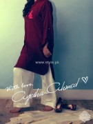 Ayesha Ahmed Casual Dresses 2012 for Women 003