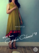 Ayesha Ahmed Casual Dresses 2012 for Women 010