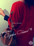 Ayesha Ahmed Casual Dresses 2012 for Women 012