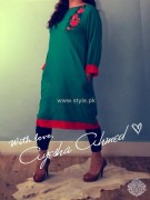 Ayesha Ahmed Casual Dresses 2012 for Women 013