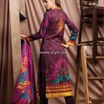Firdous Cambric Collection 2012 for Women 008