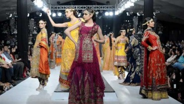 HSY Bride & Groom Dresses 2012 At PFDC L'Oreal Paris Bridal Week 001