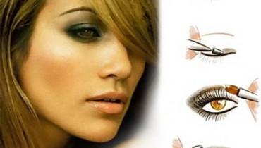 How To Do Smokey Eyes Makeup 001