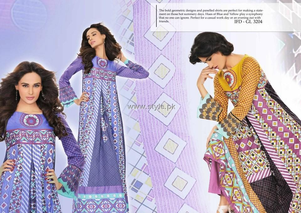 Ittehad Cotton Dresses 2012 Collection for Women