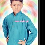 Latest Satrangi by Saqib Eid 2012 Kurta Shalwar Designs 007