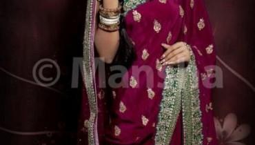 Mansha Bridal Wear Collection 2012 For Women 001