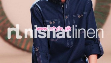 Nishat Linen Latest Kids Casual Wear Dresses 2012-13 013
