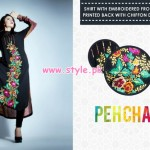 Pehcan Latest Winter Party Wear Collection 2012 002