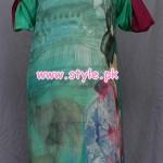 Teena by Hina Butt Casual Wear 2012 Kurta Collection 003