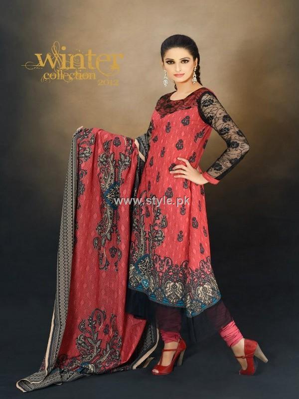 Warda Designer Collection Winter Dresses 2012 for Women
