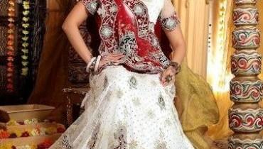 White Bridal Lehenga Trends 2012 001