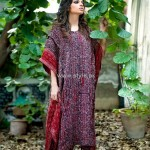 Yahsir Waheed Stitched Dresses 2012 for Women 008