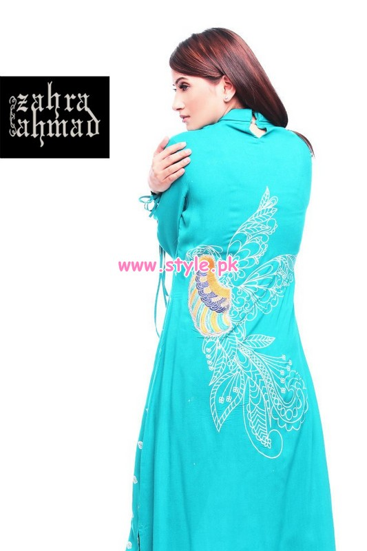 Zahra Ahmad Latest Eid Arrivals 2012 For Women 009