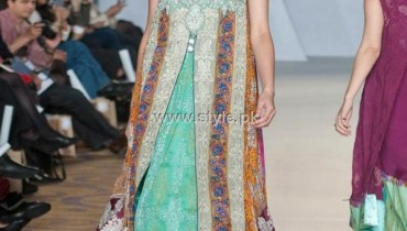 Aamir Baig Collection 2012-13 at PFW 3, London 001