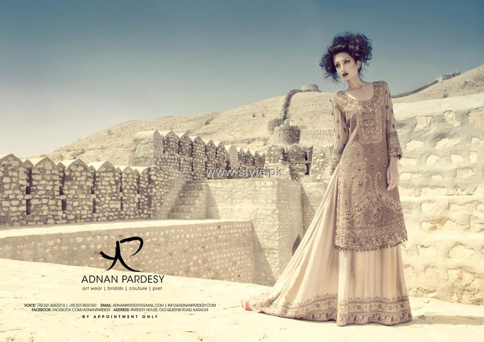 Adnan Pardesy Bridal Wear Collection 2012 for Women