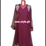 Aijazz Latest Party Dresses 2012 For Winter 001