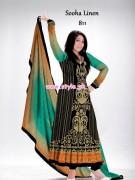 Al-Hamra Textiles Sooha Linen 2012 For Winter 006