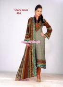 Al-Hamra Textiles Winter Linen Collection 2012 008
