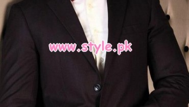 Charcoal Latest Winter Formal Wear Collection 2012 005