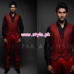 Deepak & Fahad Latest Winter 2012 Collection For Men 001