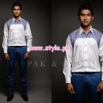 Deepak & Fahad Latest Winter 2012 Collection For Men 002