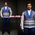 Deepak & Fahad Latest Winter 2012 Collection For Men 003