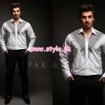 Deepak & Fahad Latest Winter 2012 Collection For Men 004