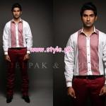 Deepak & Fahad Latest Winter 2012 Collection For Men 005
