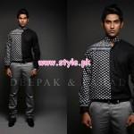 Deepak & Fahad Latest Winter 2012 Collection For Men 006