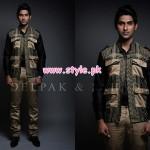 Deepak & Fahad Latest Winter 2012 Collection For Men 007