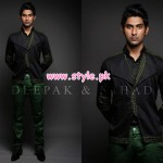 Deepak & Fahad Latest Winter Menswear Dresses 2012 008