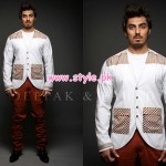 Deepak & Fahad Latest Winter Menswear Dresses 2012 009