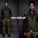 Deepak & Fahad Latest Winter Menswear Dresses 2012 010